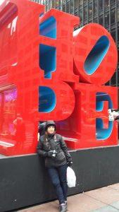 sculpture Hope New York
