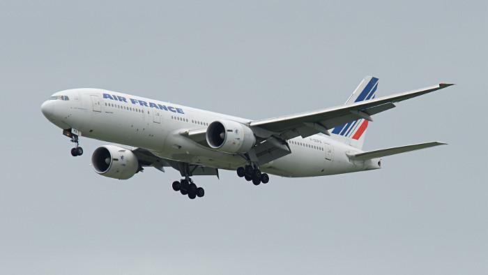 Les vols pour New York sont assurés en B777-200.