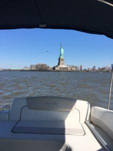 croisière yacht new york statue liberté