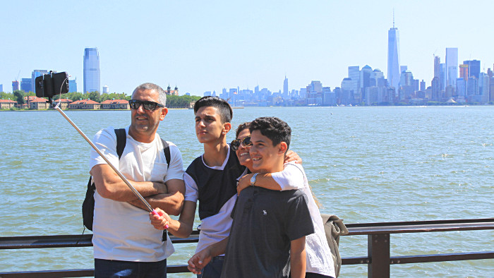 selfie photo new york