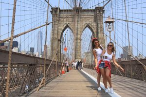 selfie pont brooklyn new york