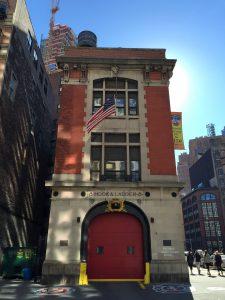 Caserne SOS Fantômes Ghosbusters New York