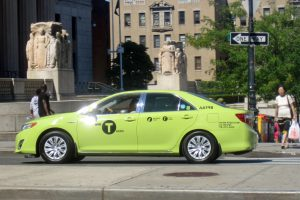 Pourquoi certains taxis sont verts à New York ?