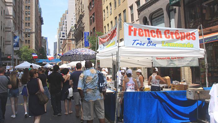 """Les Français de New York fêteront le """"Bastille Day"""". (Photo Didier Forray)"""