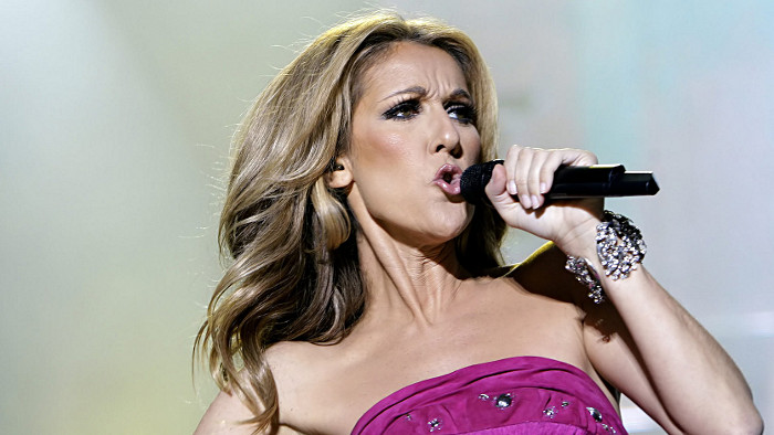 celine dion new york