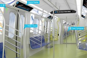 Le métro de New York change ses rames