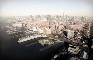 pier 55 Park New York