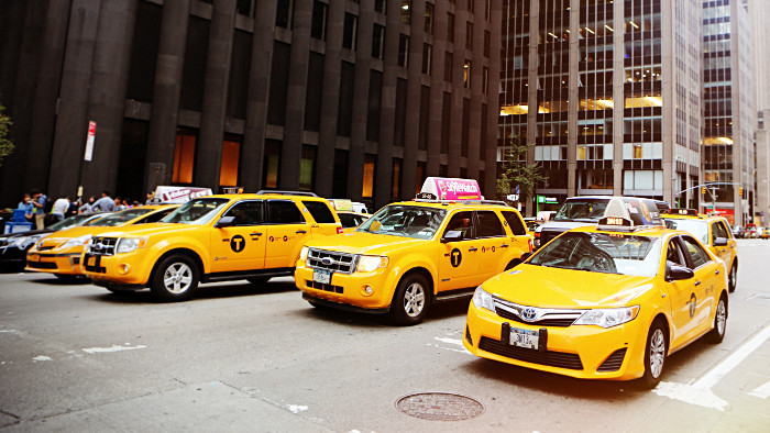 Pourquoi les taxis de new york sont jaunes new york - Rideau new york taxi jaune ...