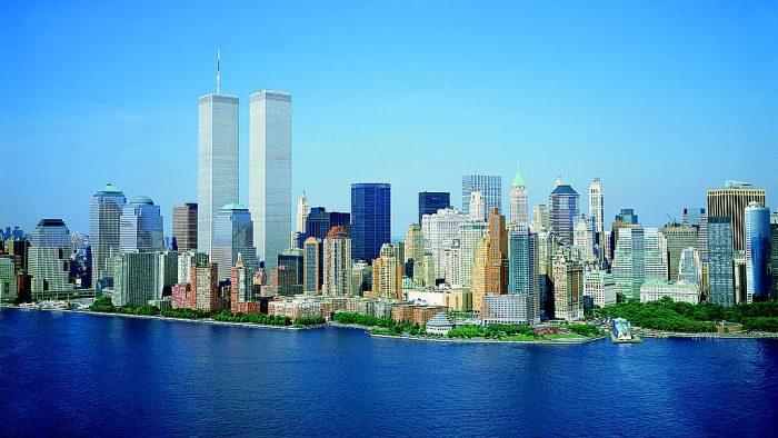 skyline Manhattan avant 11 septembre 2001