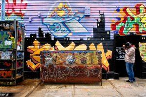Prenez des cours de graffitis à New York
