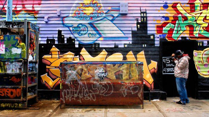 New York est aussi réputée pour son street-art