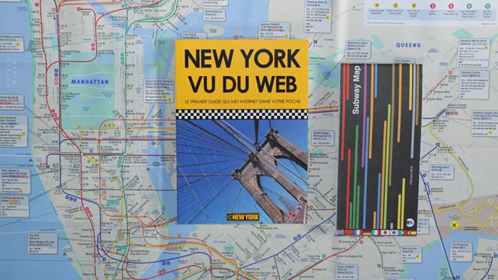 Le guide New York vu du Web et le plan officiel du métro