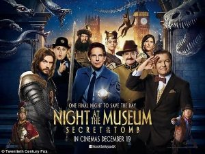 L'affiche de La nuit au musée 3
