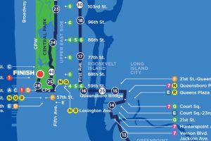 Le parcours du marathon de New York 2016