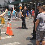 Comment faire des photos avec des policiers à New York