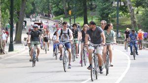 Découvrez Central Park en vélo !