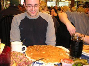 Un pancake géant...