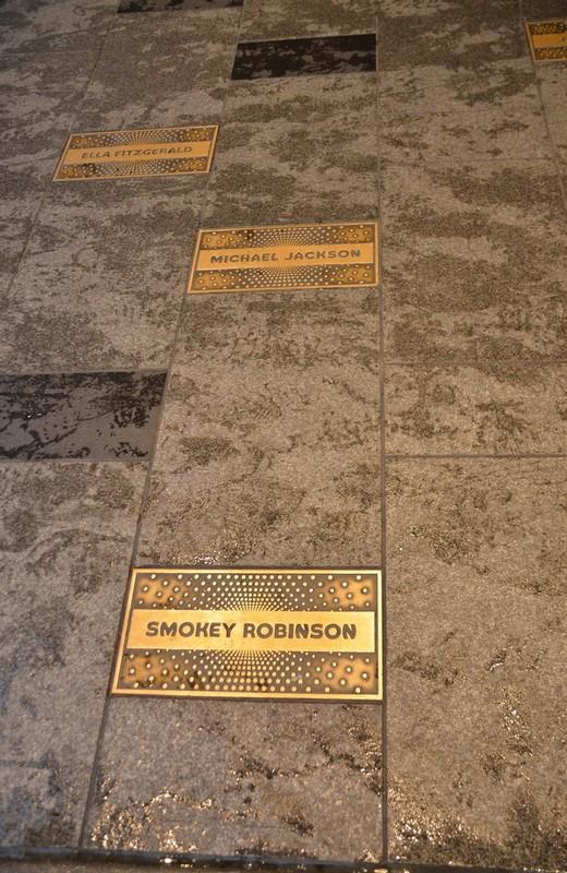 Walk of Fame devant l'Apollo Theater