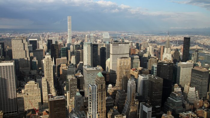 New York depuis l'Empire State building airbnb