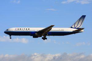 B767 de United Airlines