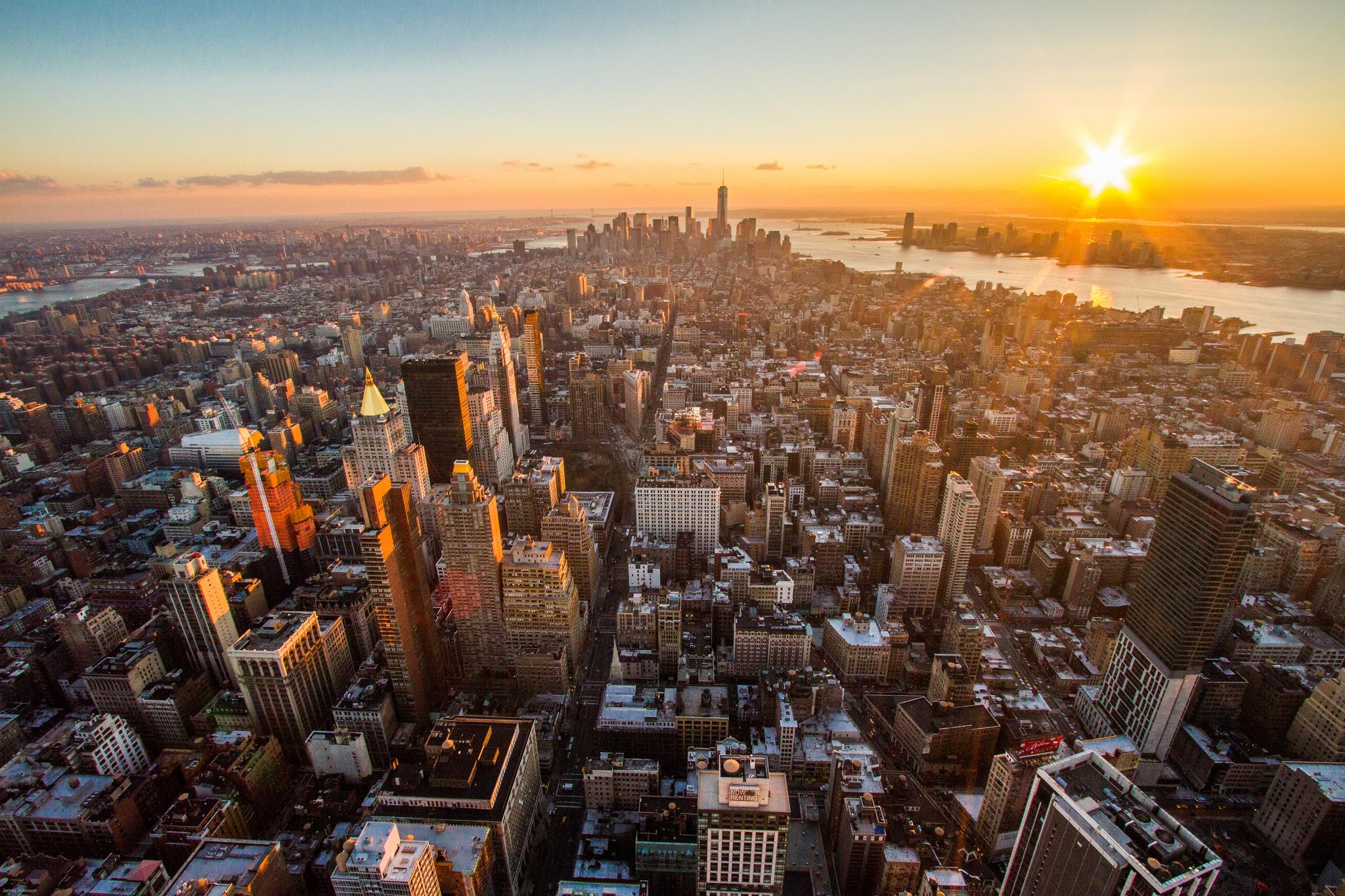 A quelle heure visiter l 39 empire state building new york - Quelle heure se couche le soleil ...