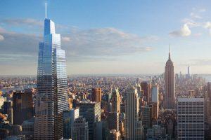 Une nouvelle tour géante en chantier à New York