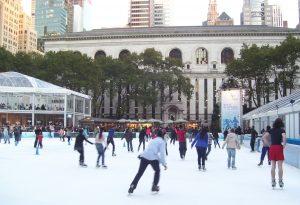 Winter Village de Bryant Park hiver New York