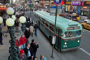 Prenez un vieux bus vintage à New York