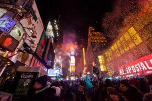 Nouvel An sur Times Square