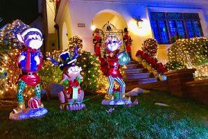 Les lumières de Noël dans le quartier de Dyker Heights