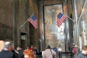 Découvrez le hall d'entrée de l'Empire State building