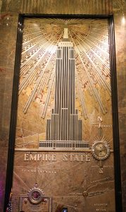 hall de l'Empire State building