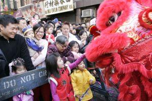 Assistez au nouvel An chinois à New York