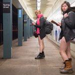 New York baisse son pantalon dans le métro