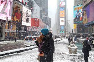 La tempête de neige à New York en photos