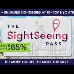 Un nouveau pass à New York : le Sightseeing Pass NYC