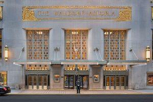 L'hôtel Waldorf Astoria de New York ferme pour travaux