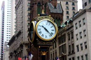 horloge Trump tower new york