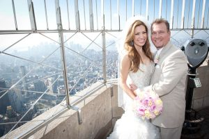 mariage Empire State building