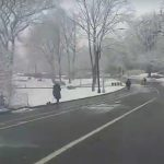 Il a encore neigé à New York