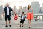 New York avec des enfants