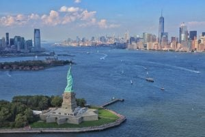 survol new york helicoptere