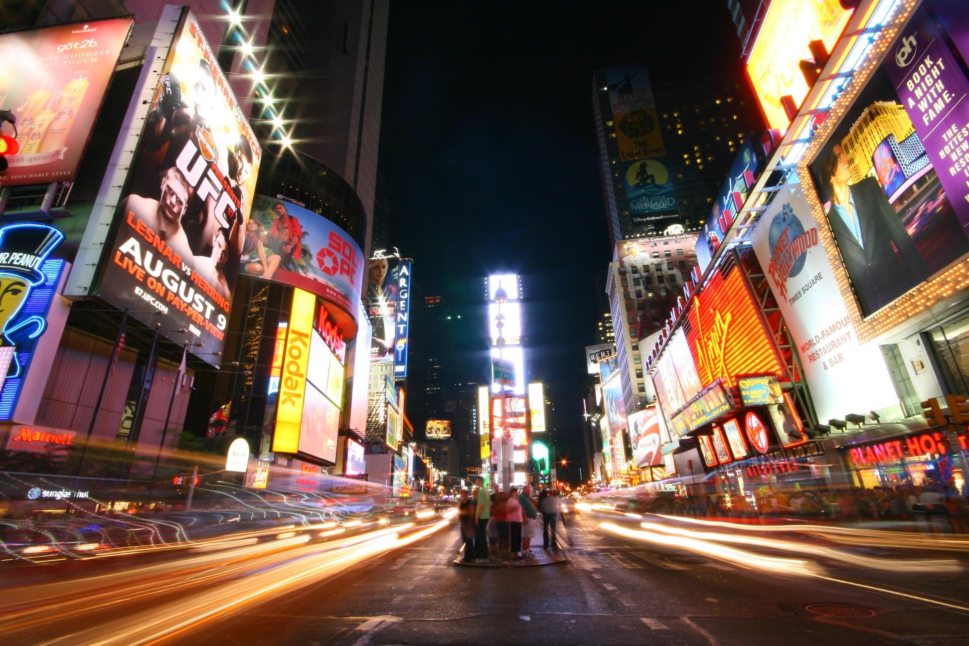 Times Square de nuit