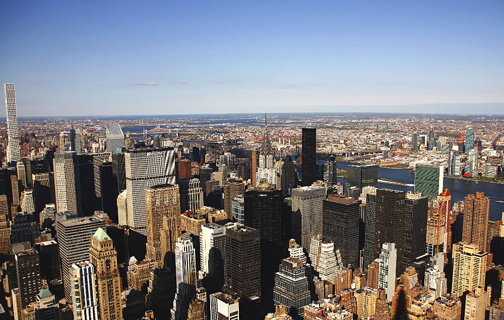 New York depuis l'Empire State building.
