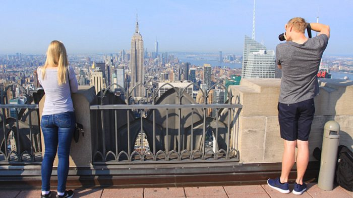photo top of the rock new york