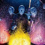 Le Blue Man Group donne des couleurs à New York