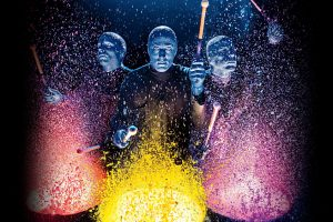 Le Blue Man Group donne des couleurs à New York