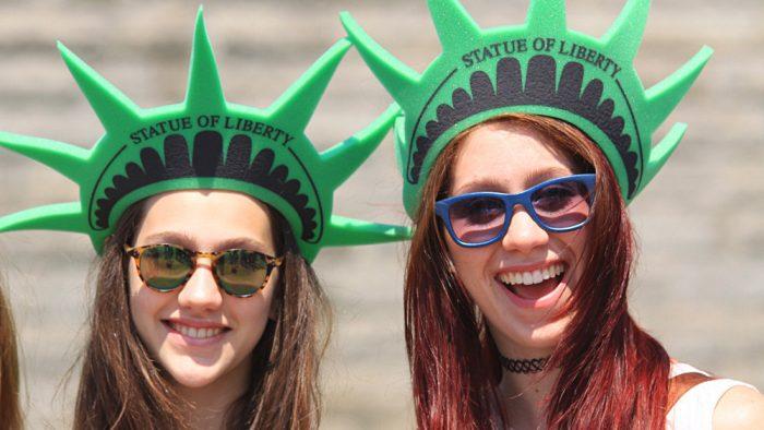 touriste new york