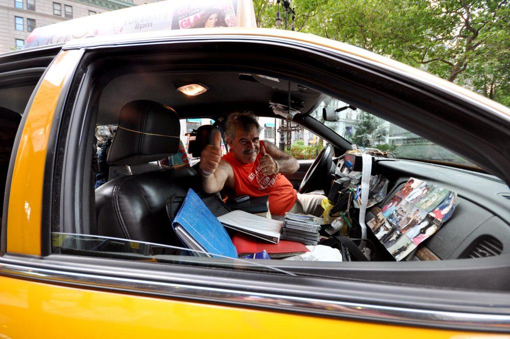 chauffeur de taxi New York