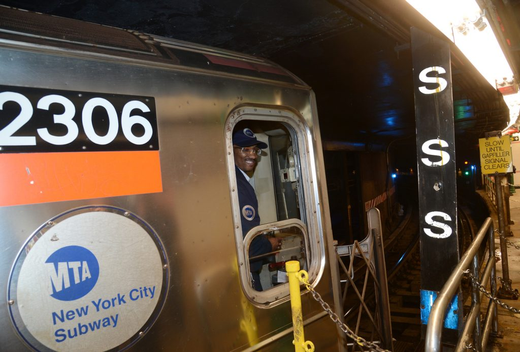 conducteur métro New York